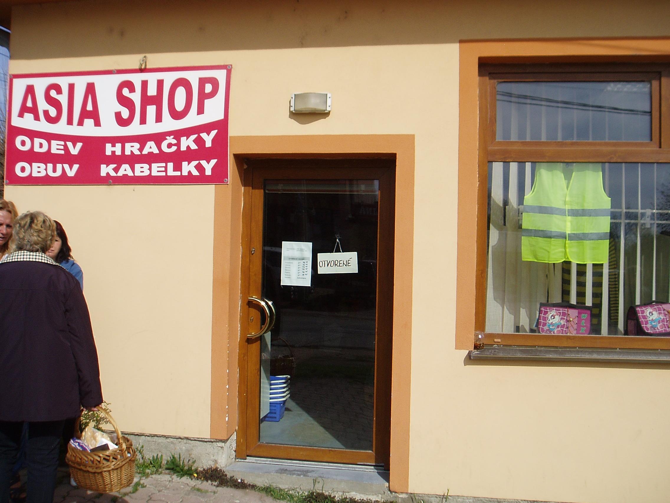 19b66deb05eb ASIA SHOP - predajňa textilu