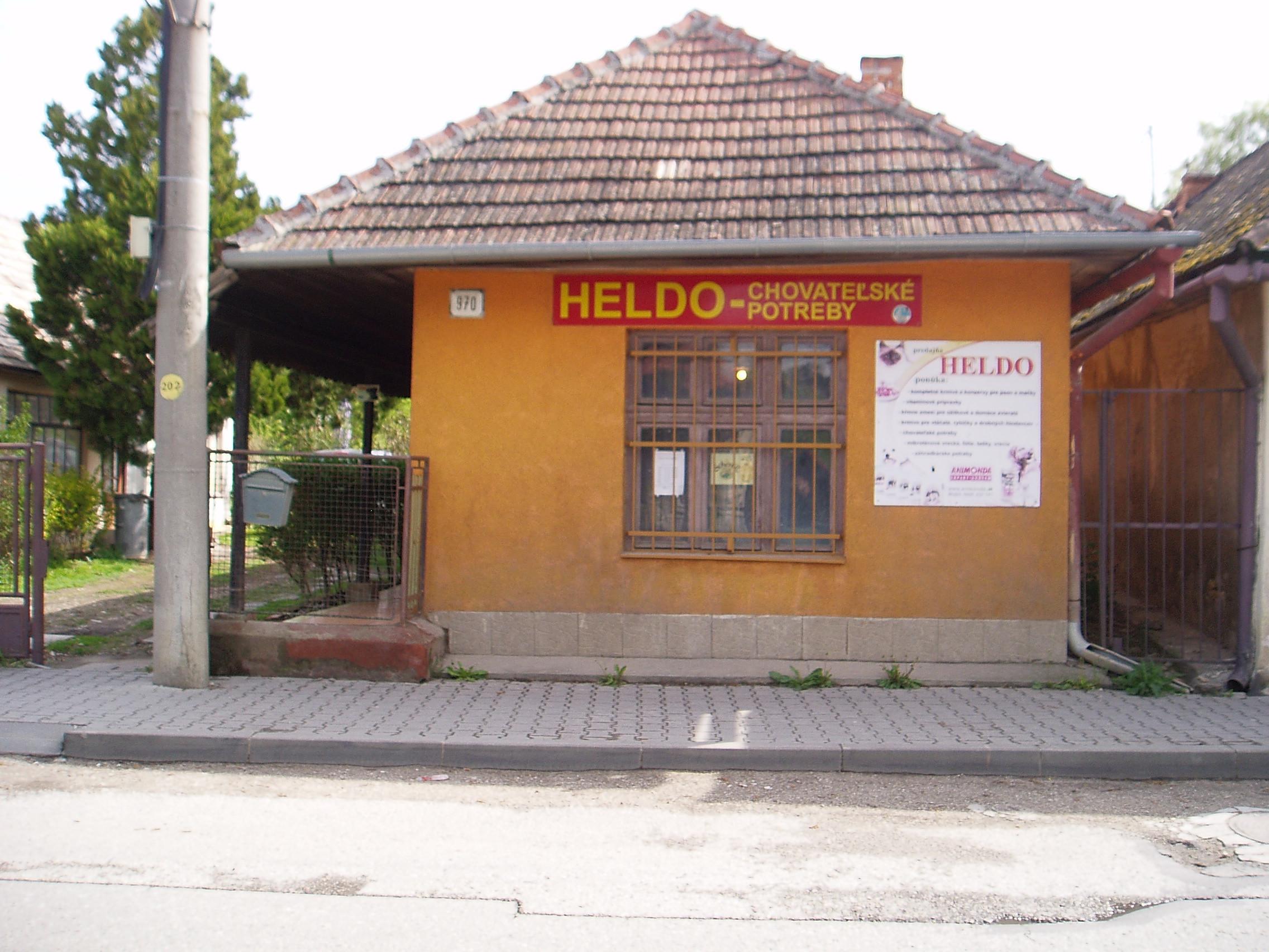 1002ec7315de HELDO - Predajňa krmív a kŕmnych zmesí